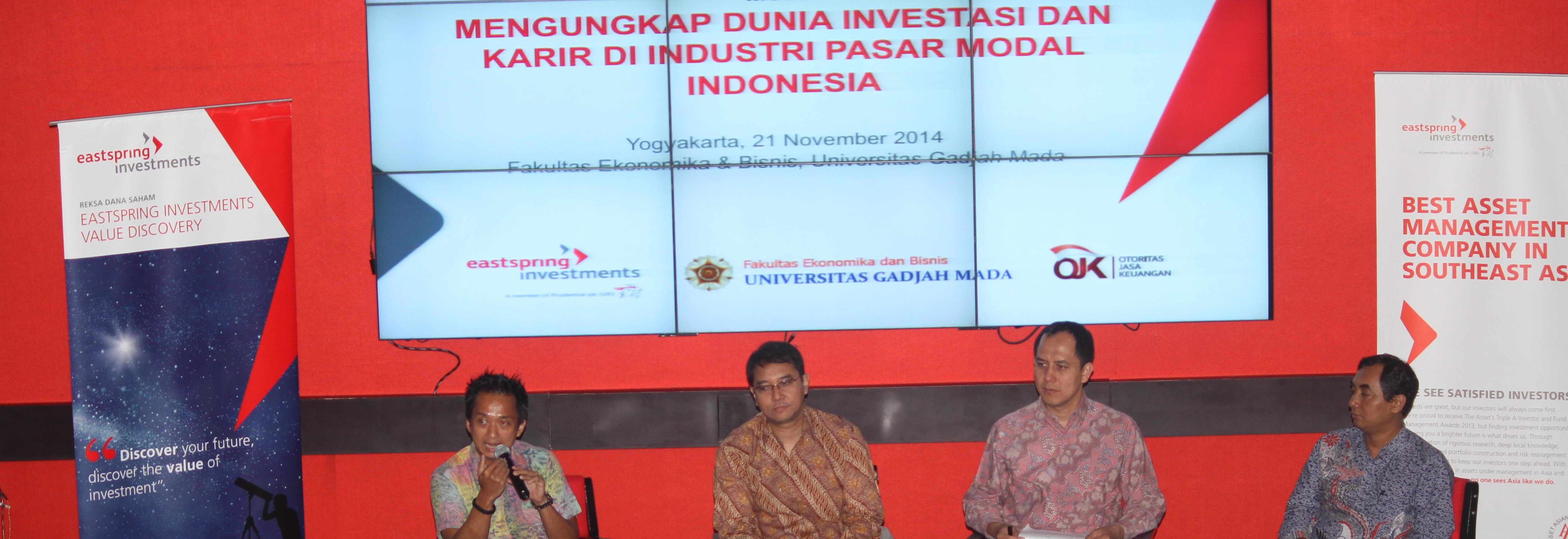 Eastspring Tour de Campus 2014 - Universitas Gadjah Mada Yogyakarta