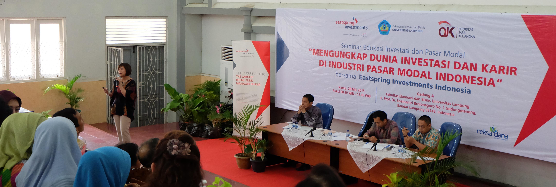 Eastspring Tour de Campus 2015 - Universitas Lampung