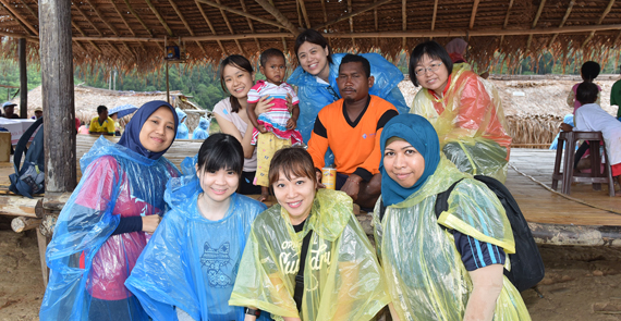 Eastspring Investments visits village children in Belum