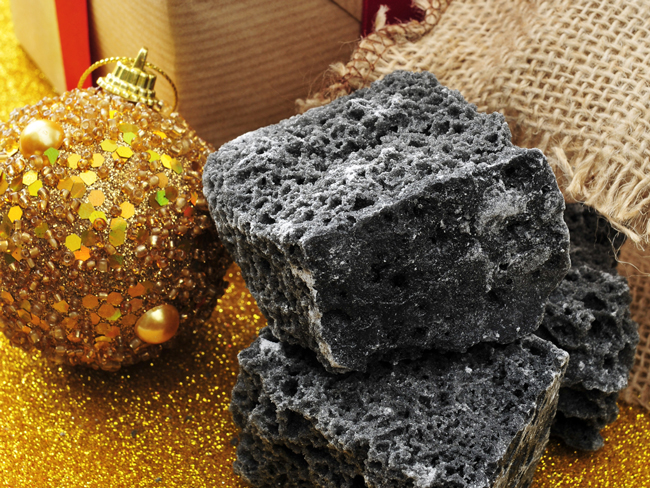 Santa's sack of coal for the equity markets