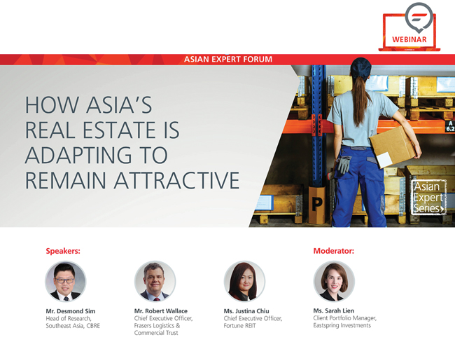 [Webinar] How Asia's real estate is adapting to remain attractive