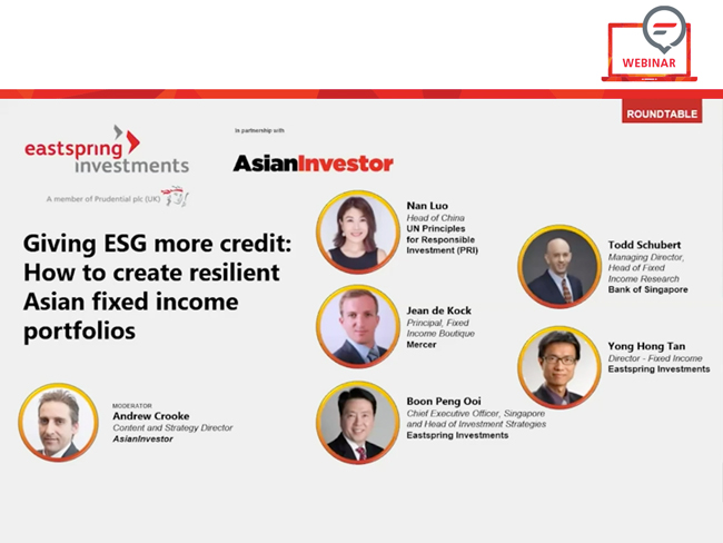 [Webinar] Giving ESG more credit: How to create resilient Asian fixed income portfolios