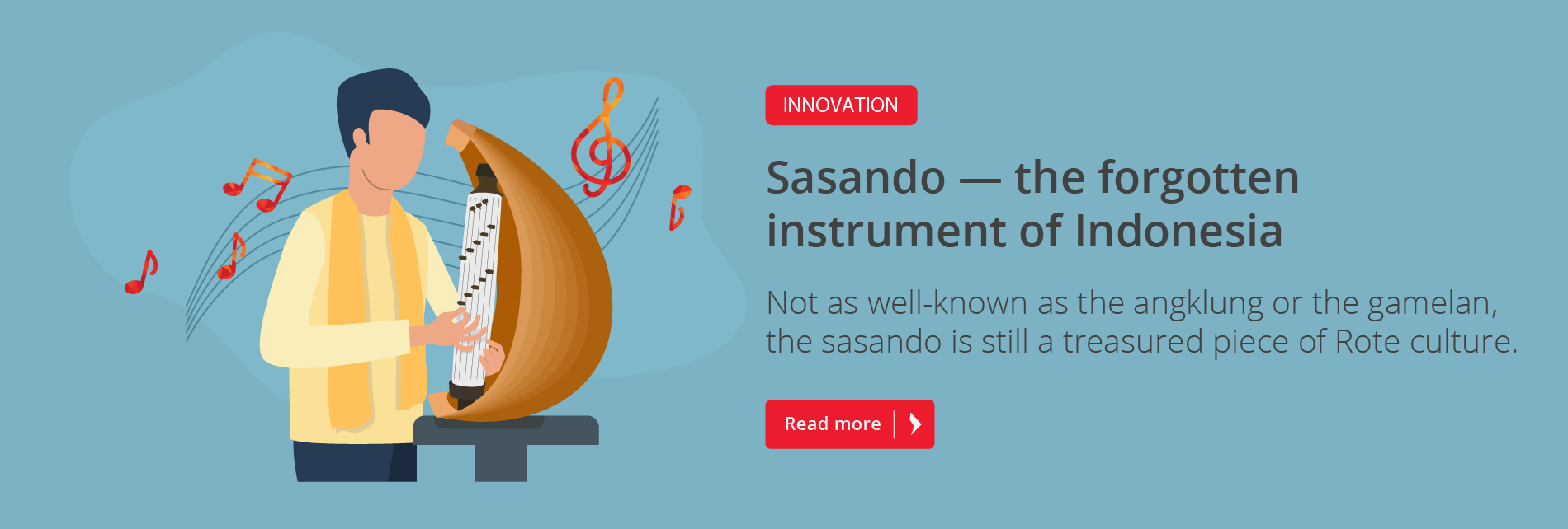 Sasando — an instrument with many tales
